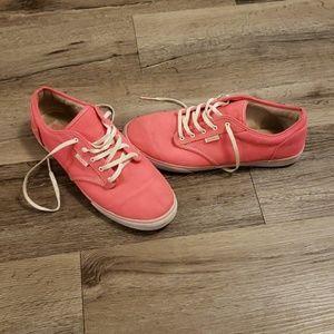 Vans Hot Pink Canvas Shoes EUC